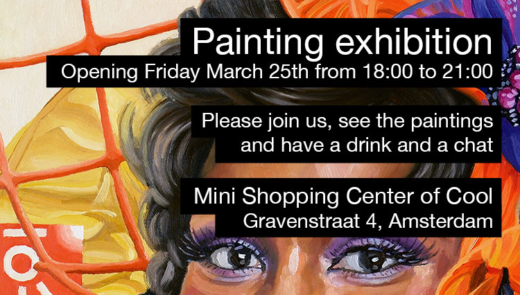 Exhibition opening invitation
