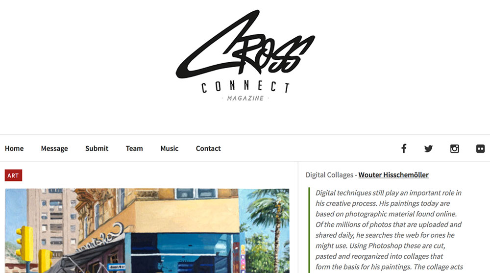 Cross Connect website