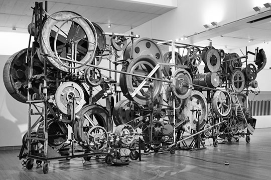 Tinguely sculpture